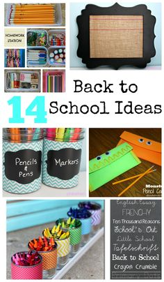 14 Must Have Back to School ideas & free printable supply list. Back To School Crafts, Back To School Hacks, Back 2 School, Back To School Supplies, Beginning Of The School Year, New School Year, Going Back To School, First Day Of School, School Fun