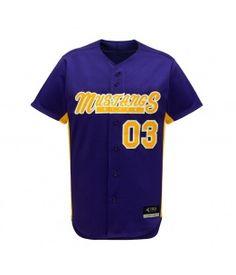 Edge Baseball Jersey