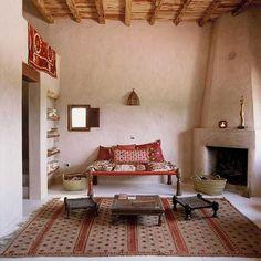 20 Oriental Interior Decorating Ideas Bringing Exotic Chic into Modern Room Decor Style At Home, Modern Room Decor, Home Decor, Deco Champetre, Sweet Home, Indian Interiors, Modern Interiors, Rustic Interiors, Tadelakt