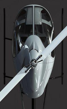Helicopter Cicaré8_top | por Sentidos design - Indalecio Sabbioni