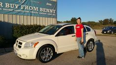 CANDICE's new 2008 DODGE  CALIBER! Congratulations and best wishes from Benny Boyd Motor Company - Marble Falls and DEE NIXON.