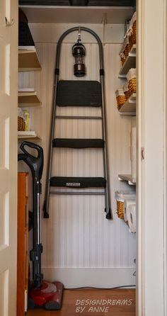 DesignDreams By Anne: Organizing And Beautifying The Broom Closet