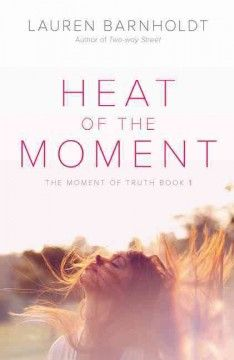 "Heat of the Moment by Lauren Barnholdt - Before graduation, I promise to learn to trust"" is what the email Lyla McAfee wrote to herself as a freshman, to be delivered right before graduation, says--but on the senior trip to Florida she discovers that what she now considers a silly sentiment may be a lot harder, and a lot more important, than she thinks."