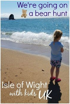 An Isle of Wight bear hunt - exploring the island off the south coast of England in the footsteps of the famous children's book, We're Going on a Bear Hunt, from swishy grass to beach, rockpool and forest. Days Out With Kids, Family Days Out, Traveling With Baby, Travel With Kids, Day Trips Uk, Fly Travel, Kids Attractions, Travel Inspiration, Travel Ideas