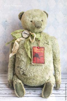 Купить bon voyage - мишки тедди, мишка, тедди, теддик, медвежонок, игрушка ручной работы