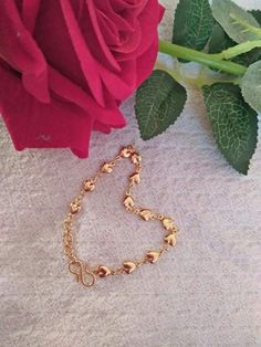 Gold Non-Precious Metal Base Metal Traditional Bracelet 1 Bangle Gold Ring Designs, Gold Bangles Design, Gold Earrings Designs, Bracelet Designs, Necklace Designs, Gold Bracelet Indian, Gold Bracelet For Women, Gold Bangle Bracelet, Gold Mangalsutra Designs