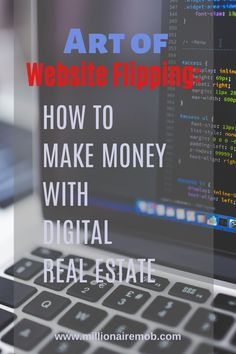The Art of Website Flipping: Make Money with Digital Real Estate Ways To Save Money, Money Saving Tips, Make Money Online, How To Make Money, Retirement Cards, Retirement Planning, Financial Planning, Paying Back Student Loans, Web Design Jobs