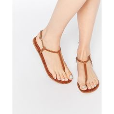 Discover our range of women's shoe styles at ASOS. From boots, to wedged sandals and elegant loafers. Browse our collection and order now at ASOS. Zapatos Shoes, Shoes Flats Sandals, Sexy Sandals, Cute Sandals, Bare Foot Sandals, Cute Shoes, Leather Sandals, Heels, Tan Shoes