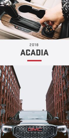 The Acadia mid-size SUV meets your everyday needs with premium comforts. Easily configure your passenger and cargo arrangements with the fold flat second – and third – row seats, a standard feature exclusive to Acadia and Acadia Denali (not available on All Terrain). Stay comfortable with the available heated steering wheel and heated ventilated driver's and front passenger's seats.