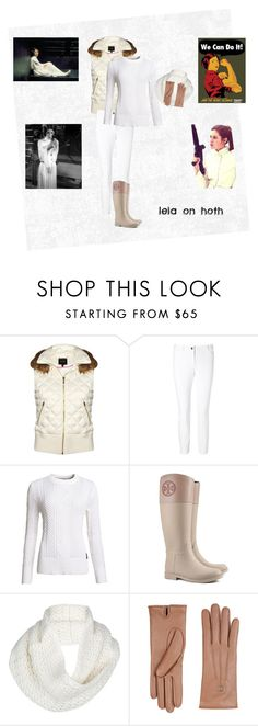 """leia on the ice planet of hoth //"" by xanakin-sky ❤ liked on Polyvore featuring Juicy Couture, ESCADA, Superdry, Tory Burch, UGG Australia and Gucci"