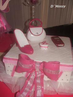 Detalle torta 15 años