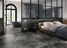 Minimalist Room, Home And Living, Dark Grey, Bungalow, Stoneware, Im Not Perfect, Tiles, Sweet Home, Indoor