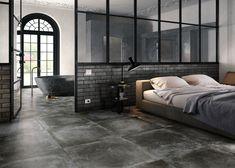 Minimalist Room, Grey Tiles, Home And Living, Dark Grey, Bungalow, Stoneware, Sweet Home, Indoor, Flooring