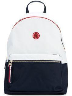afbbf9e498f67 Tommy Hilfiger Logo Backpack - Farfetch