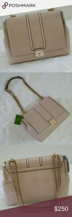 ♠kate spade parsons street haydee kate spade parsons street haydee Pumice pebbled leather with gold plated hardware Multiple ways to wear strap drop Snap closure Brand new and unused No trades Offers through Poshmark or add to bundle and ask for private offer kate spade Bags Shoulder Bags