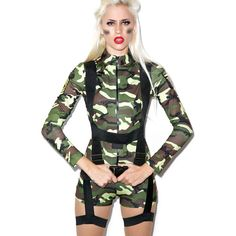 sexy army girl costume 29 liked on polyvore featuring costumes leg avenue - Halloween Army Costumes