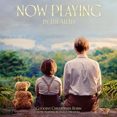 Now playing in Select Theaters. Get Tickets.  The Hundred Acre Wood awaits.   #GoodbyeChristopherRobin is NOW PLAYING in select theaters.