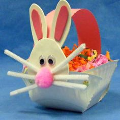 Paper-Basket-easter-bunny.jpg 400×400 pixels
