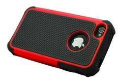 Double-Color silicone cell phone case for iphone 4/4s (orange)