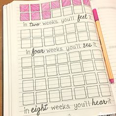 Ways to Kick-Start your Bullet Journal Goal bullet journal spread. Free printable to keep you inspired and on track. Free printable to keep you inspired and on track. Bullet Journal For Weight Loss, Bullet Journal Workout, Bullet Journal Notebook, Bullet Journal Spread, Bullet Journal Inspiration, Bullet Journals, Bullet Journal Weight Loss Tracker, Bullet Journal Goals Page, Body Inspiration