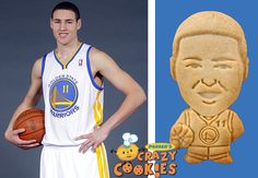 What #DubNation means to me... getting to eat Klay Thompson in the form of a cookie! (Seriously, this is awesome)