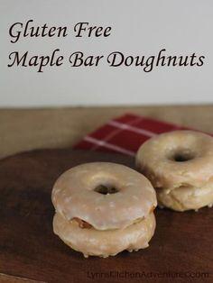 Gluten Free Maple Bar Doughnuts
