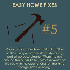Easy Home Fixes #5 - Cleaning Air Vents In Your Home | Rempfer Construction, Inc.