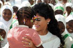 Saudi Princess Ameerah Al-Taweel, in Ghana