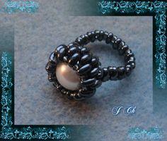 Hematit s perleťovou perlou