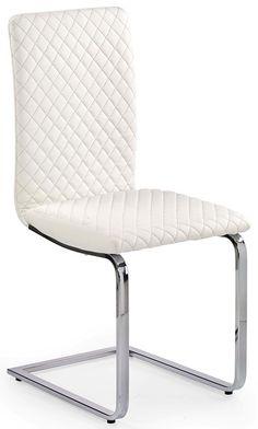 Krzesła białe do biura i nie tylko Chair, Furniture, Home Decor, Homemade Home Decor, Home Furnishings, Interior Design, Home Interiors, Side Chairs, Decoration Home