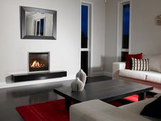 Modern living room w
