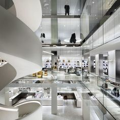 Architect Steven Harris reveals the ideas behind the design of the buzzy new shopping destination