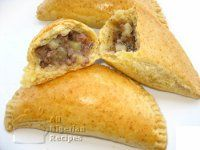 Nigerian meat pie. I used canned salmon instead. Used half white/half whole wheat flour and about 400 gm of margarine.