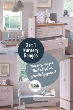 Win a beautiful 3 in 1 cot and learn what things to consider when choosing your nursery furniture.