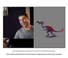 Max Greenfield in Ice Age: Collision Course Ice Age Collision Course, Blue Sky Studios, Looney Tunes, The Twenties, The Voice, Comedy, Adventure, Film, Adam Devine