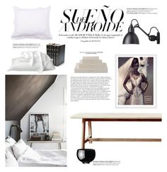 """""""White Linen"""" by barngirl ❤ liked on Polyvore featuring interior, interiors, interior design, home, home decor, interior decorating, Georg Jensen, Global Views, Decorative Leather Books and Williams-Sonoma"""