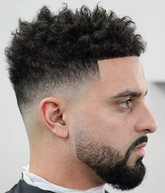 Top Afro Hairstyles For Men In 2019 Visual Guide- messy hairstyles black messy hairstyles scrunchie messy hairstyles natural messy hairstyles drawing messy hairstyles updo messy hairstyles short Taper Fade Curly Hair, Taper Fade Haircut, Black Curly Hair, Curly Hair Men, Mens Hairstyles Round Face, Curled Hairstyles, Short Hairstyles, Wedding Hairstyles, Short Curly Haircuts