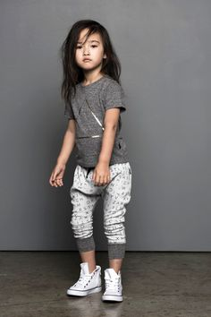 ss16: The Nancy Markert New York Showroom has the Huxbaby collection for spring 2016, with cool tees and loose pants that define edgy kidswear. www.nancymarkert.com, www.huxbaby.com