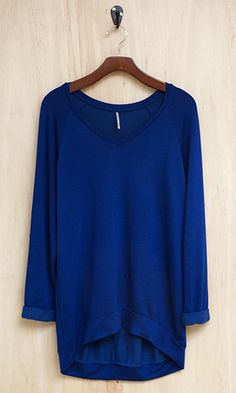 Cobalt Blue Ladies Sweater 30