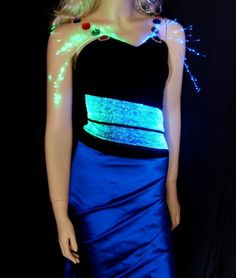 Enchanting LED Mini Dresses - Hussein Chalayan | The Cool Gadgets - Quest for The Coolest Gadgets