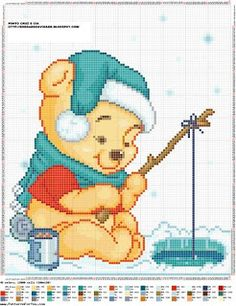 CHARMS IN CROSS POINT: Winnie the Pooh