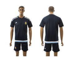 2015-2016 Argentina Away Dark Blue Soccer Jersey Football Shirt prices USD   21.00  cheapjerseys b4eca8652