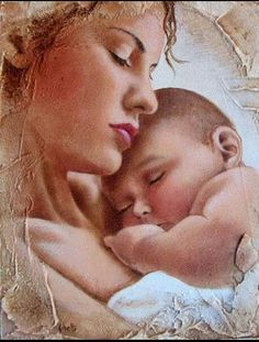 Mother Mary, Mother And Father, Mother And Child, Painting For Kids, Art For Kids, Father Images, The Joys Of Motherhood, Mama Mary, Mary And Jesus