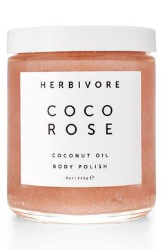 Love this highly moisturizing and gently exfoliating blend of virgin coconut oil and delicately floral Bulgarian rose that leaves the skin soft and hydrated.