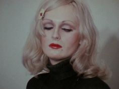 Candy Darling in Women in Revolt Lady Grinning Soul, Holly Woodlawn, Miss Candy, Candy Darling, Androgyny, Glam Rock, Old Hollywood, Pretty People, How To Fall Asleep