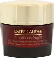 Estee Lauder Masks and Exfoliators Nutritious Replenish and restore your skin overnight, and wake up to the look of radiant health. Formulated as an emollient creme which is rich in nutrients and works all night long to restore skins balance and  http://www.comparestoreprices.co.uk/january-2017-8/estee-lauder-masks-and-exfoliators-nutritious.asp