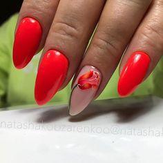 Easter Nail Designs, Red Nail Designs, Best Nail Art Designs, Acrylic Nail Designs, Red Acrylic Nails, Gel Nail Art, Nail Polish Art, Pastel Nails, Bling Nails