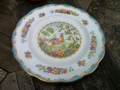 Royal Albert Chelsea Bird Plate App 8 1/4 Inches by k1vintage