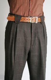 Checked design 2 back pocket fine wool wide Mens Wide Leg Trousers, Mens Slacks, Wide Leg Pants, Big Legs, Guy Stuff, Car Cleaning, Matching Shirts, Wool Fabric, Hats For Men