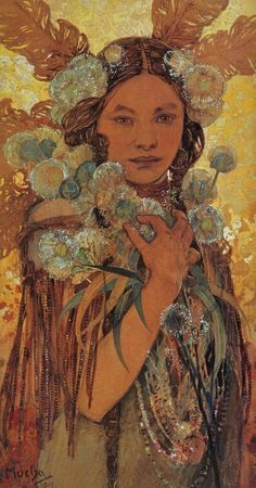 alphonse mucha would make a beautiful tattoo, but very difficult to do.